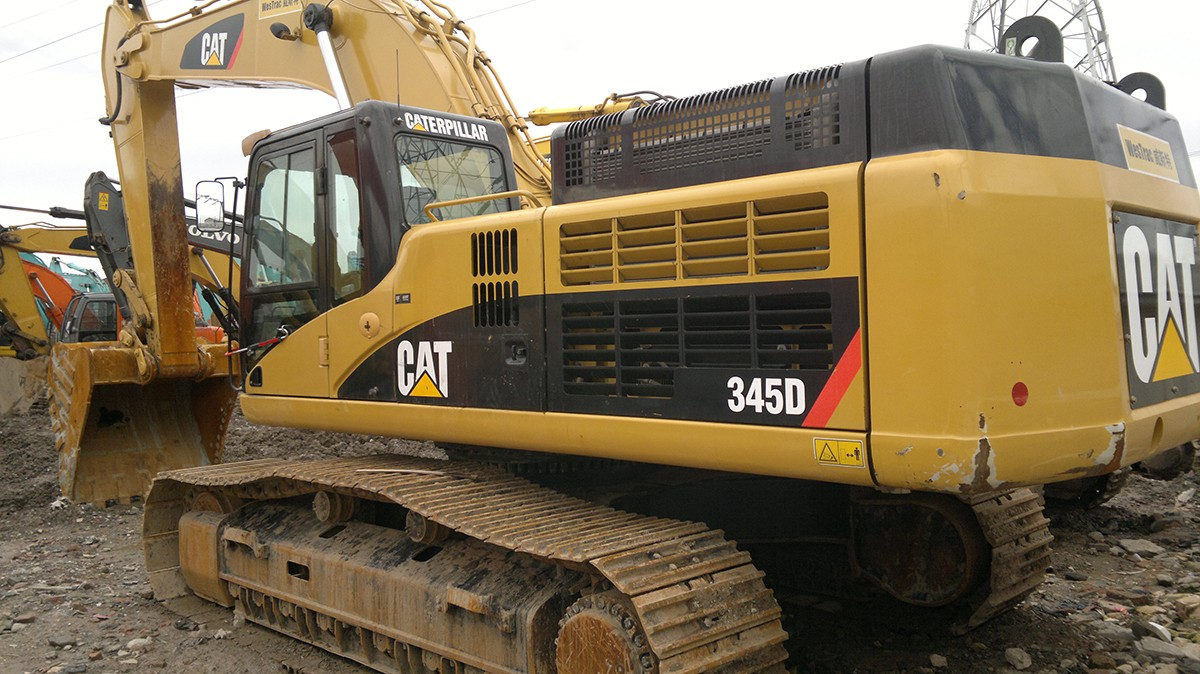 Caterpillar excavator_Shanghai YueChao Trading Co, Ltd